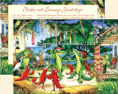 Cajun Christmas.Love These For A Fun Twist On Christmas Cards Louisiana