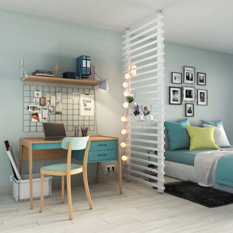 s parateur de pi ce bureau office work space chambres pinterest separateur de. Black Bedroom Furniture Sets. Home Design Ideas