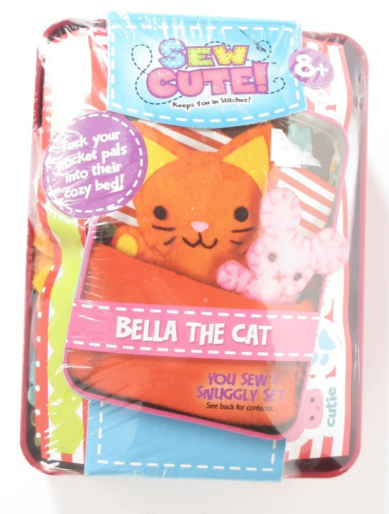 Colorbok Sew Cute Tincredible Cat Toys & Games Craft Kits ...
