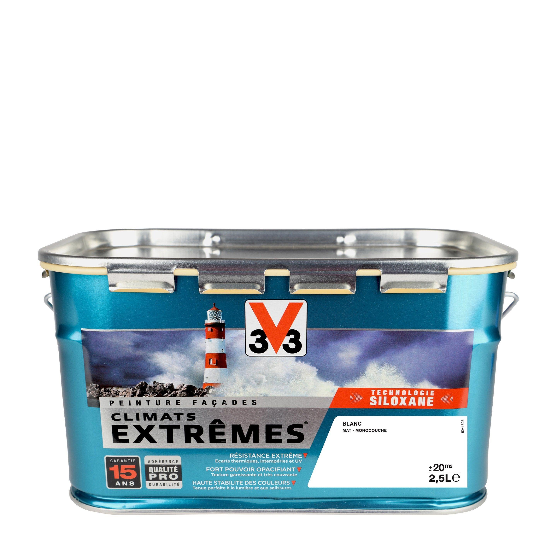 Peinture Façade Climats Extrêmes V33 Blanc Pur 25 L