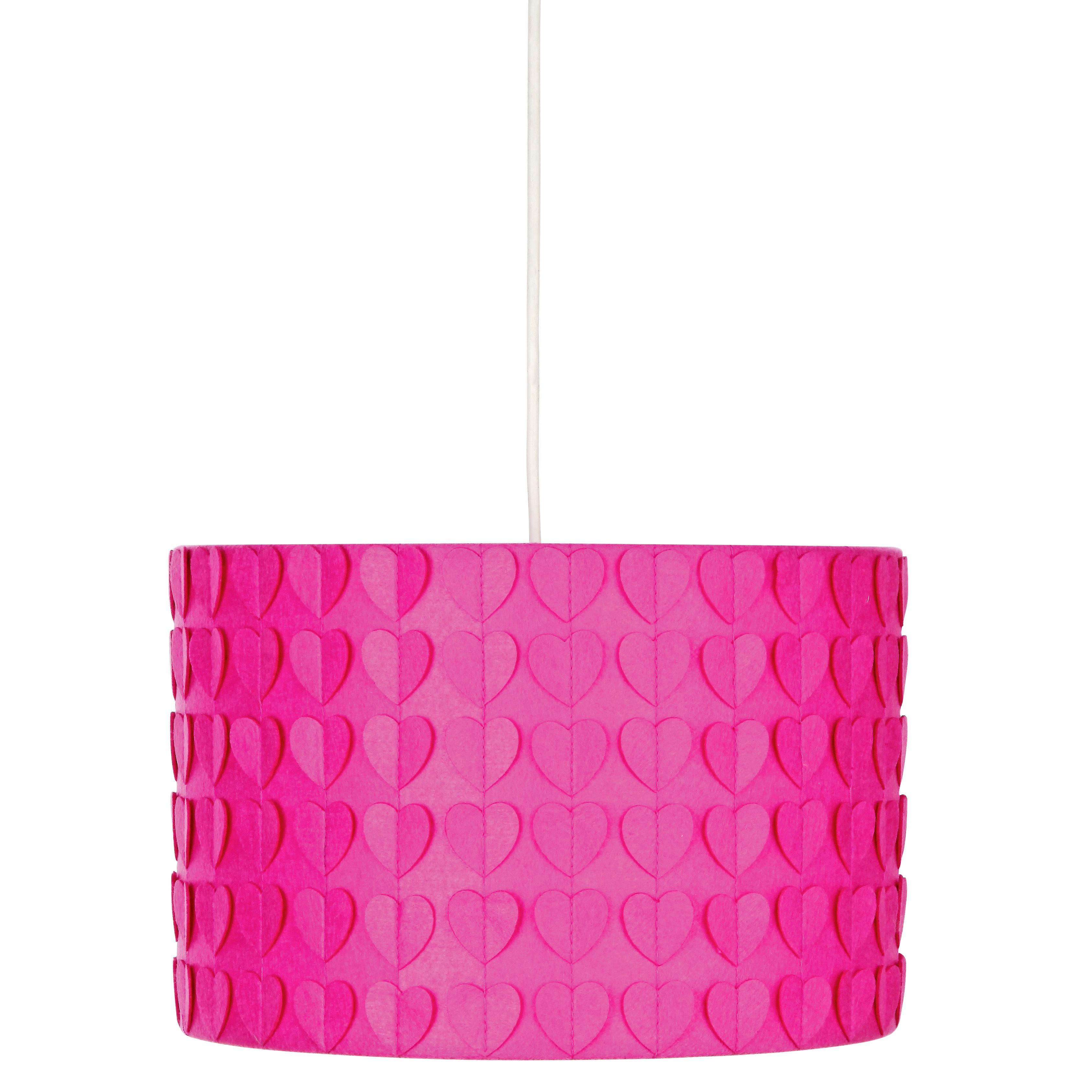 buy colour match fabric light shade - funky fuchsia at argos.co.uk