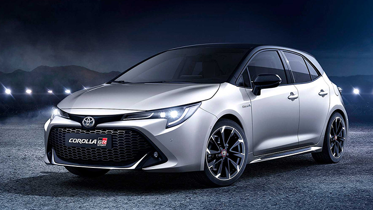 Here S A Look At The New Toyota Corolla Gr Sport With Images
