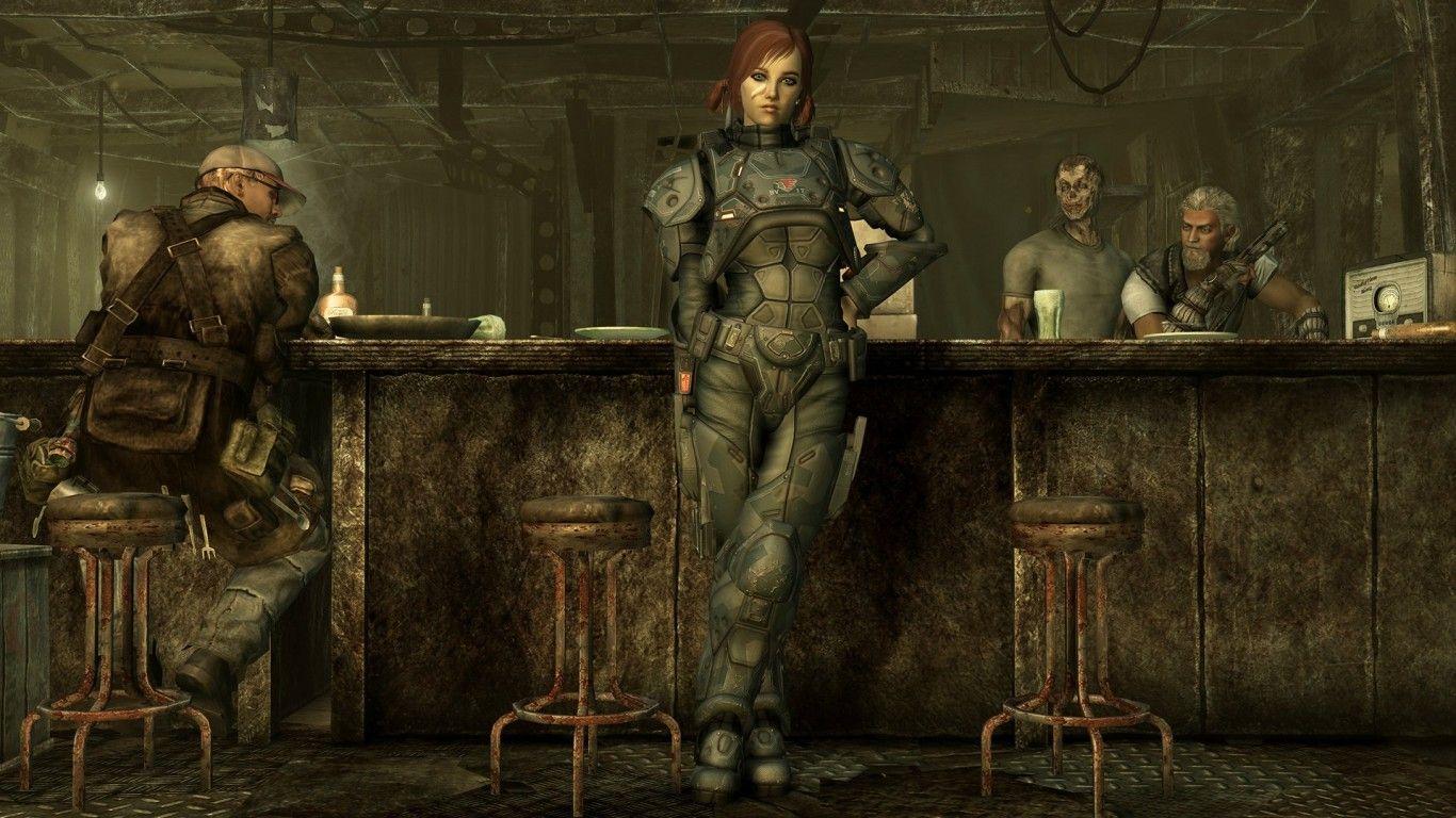 Fallout 3 Moriarty S Saloon Fallout Wallpaper Fallout 3 Wallpaper Fallout 4 Wallpapers