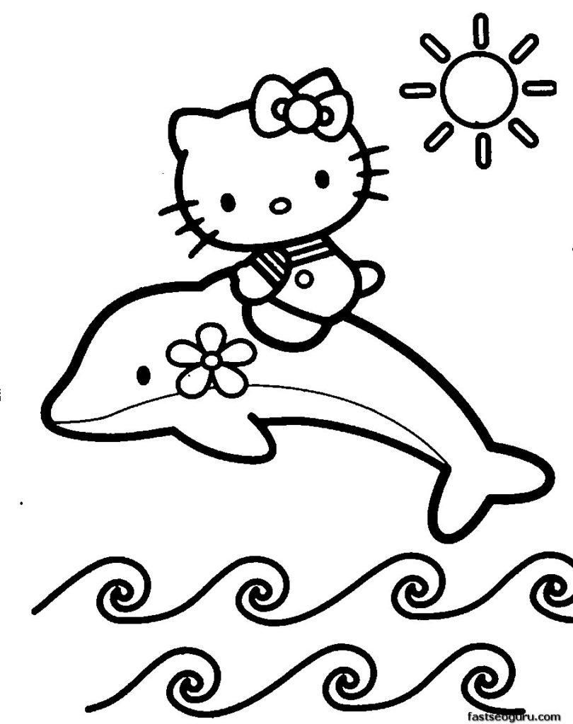 8 Free Coloring Pages To Print In 2020 Hello Kitty Coloring Kitty Coloring Hello Kitty Colouring Pages