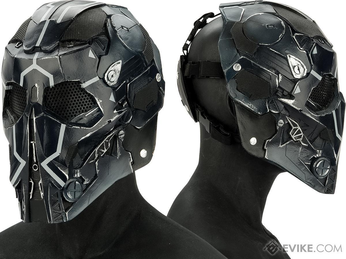 """RCustom Fiberglass """"Raptor"""" Full Face Mask"""
