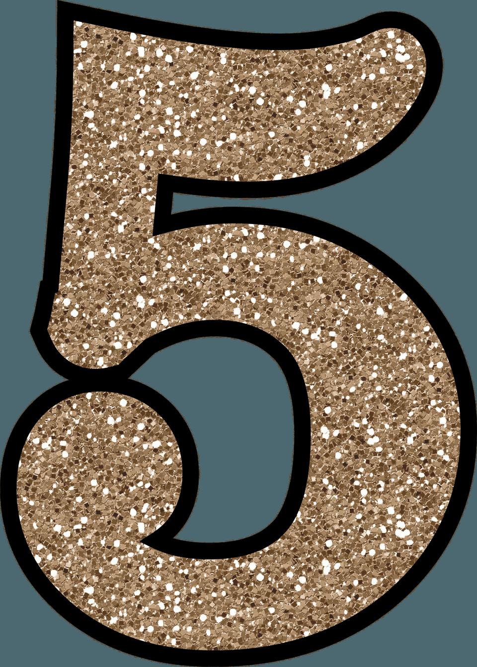 5 glitter numbers 0 9 free printable numbers