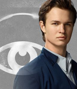 Ansel Elgort as Caleb Prior Tris's brother ; son to ...