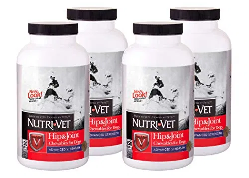 Nutri Vet Hip Joint Advanced Strength Chewables Best Petsep Com Nutri Dog Joint Supplement Dog Joints