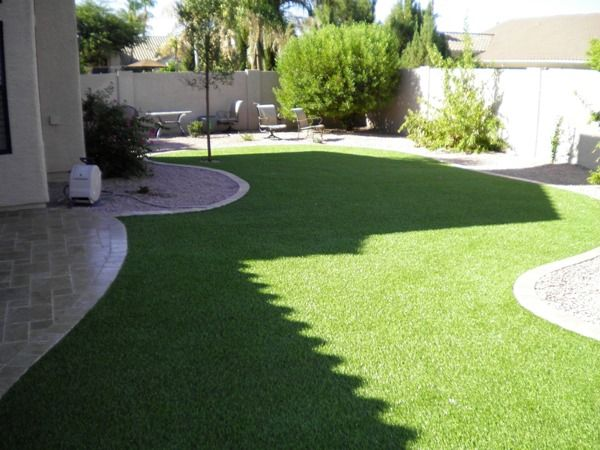 Nice tiled patio and grass! A BIG backyard is a MUST :D | Patio ...