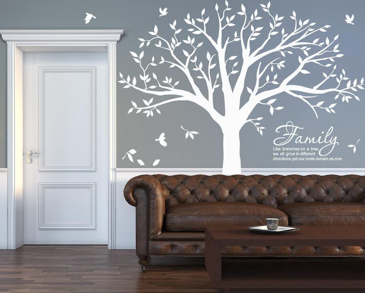 PVC Door Wall Sticker Decal For Home Hotel Bedroom Office Decor DIY Art Supply