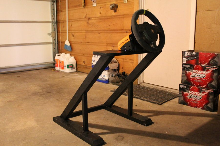 homemade wheelstand side view by nlck09 support volant. Black Bedroom Furniture Sets. Home Design Ideas