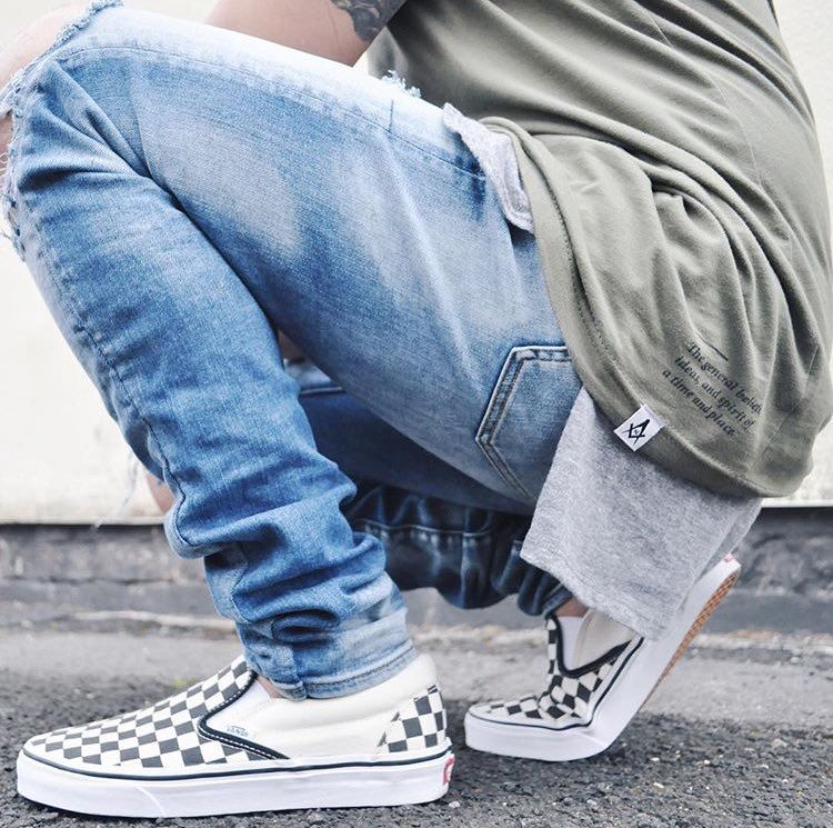 Ways to Wear Vans Checkerboard Sneakers