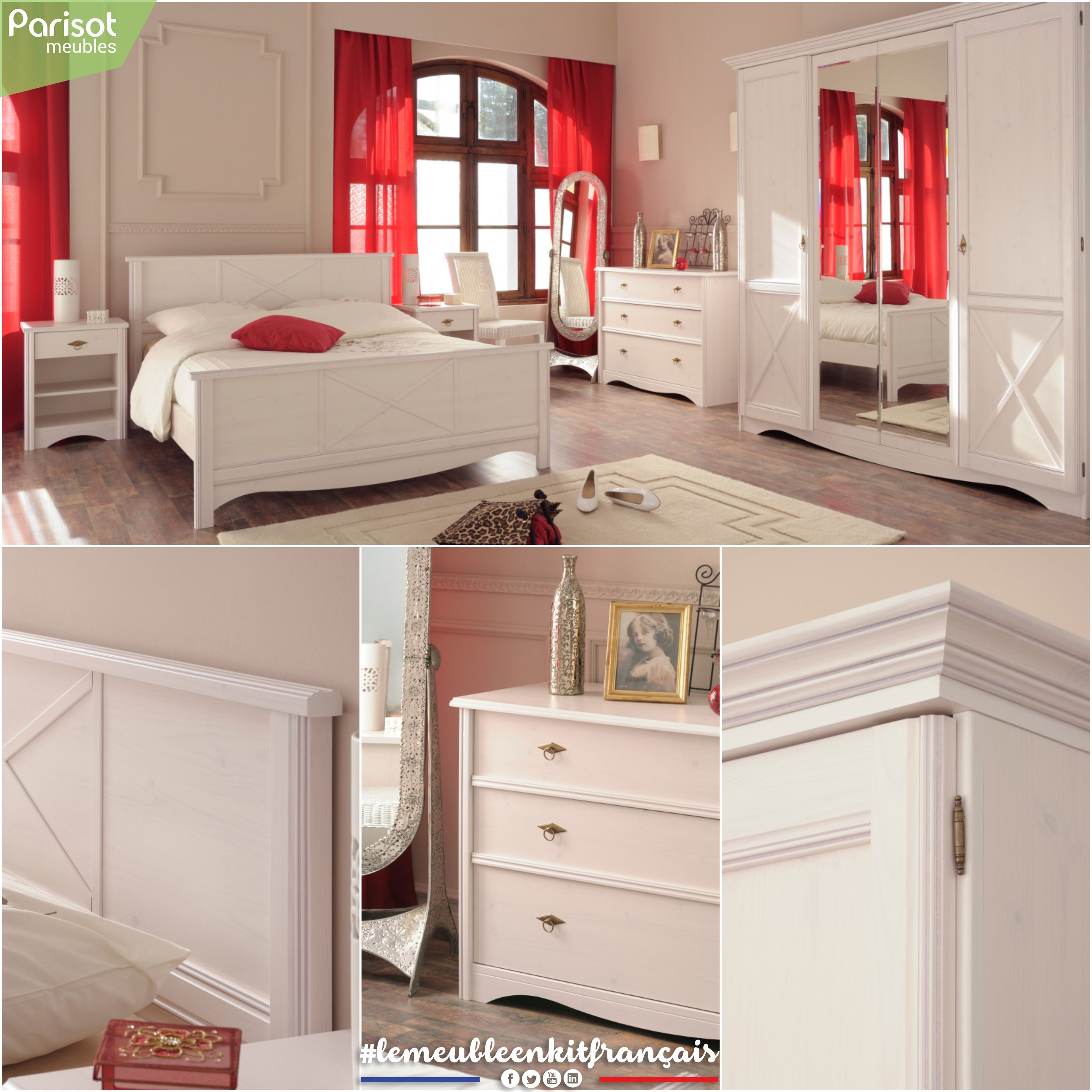 Marion By Parisot Meubles A Range Of Pure And Elegant Pieces Of Furniture,  Perfect To