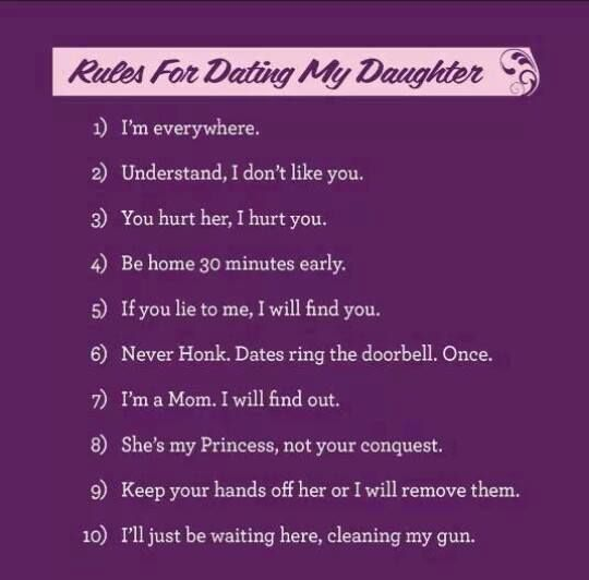 the next step girls rules for dating