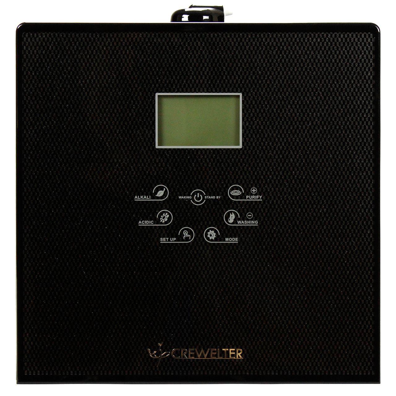 Crewelter 9 Plate Alkaline Water Ionizer Purifier Machine