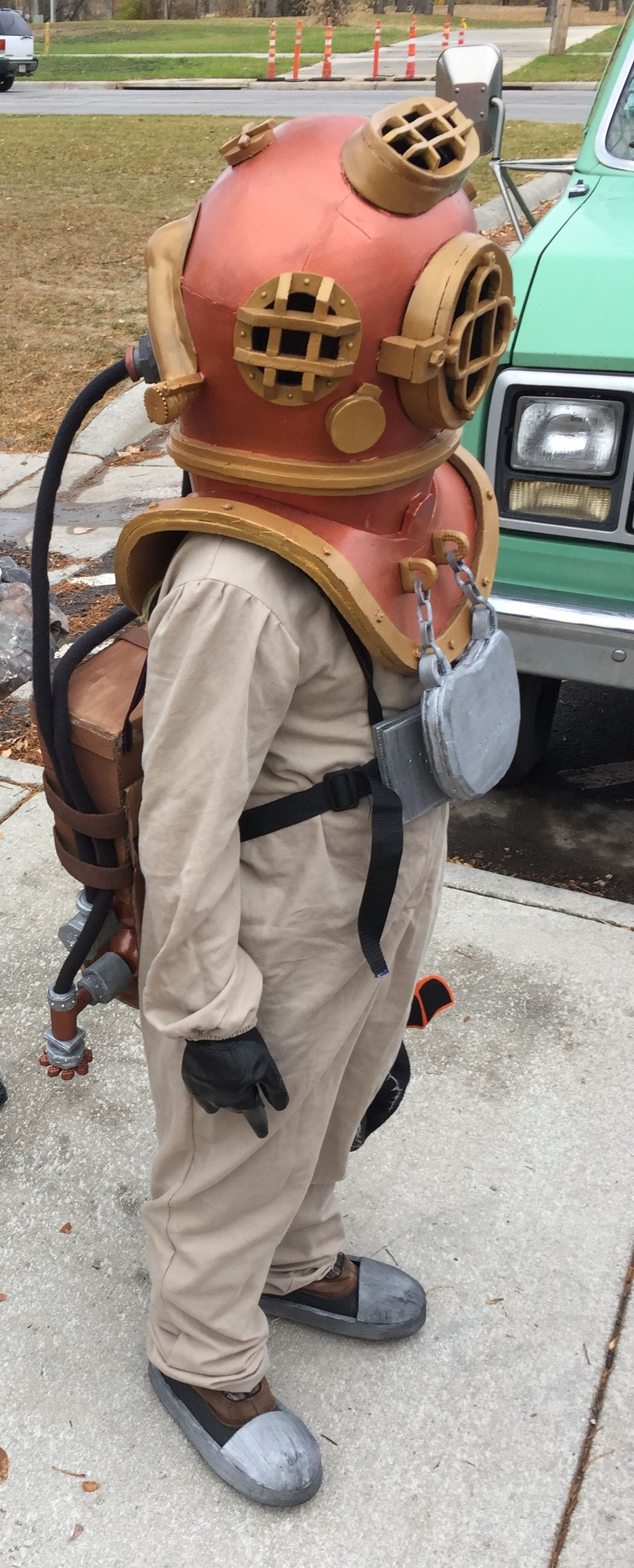 Deep sea diver costume I Made This Pinterest