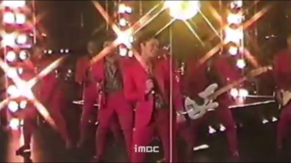 Bruno Mars Treasure Meme Mbc Version
