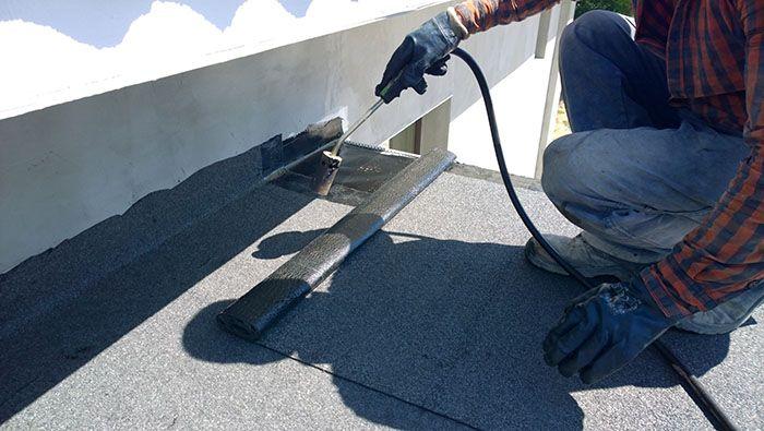 5 Reasons Why You Should Prefer Flat Roofs For Value And Comfort Eagle Roofing Roof Leak Repair Roof Repair Leak Repair