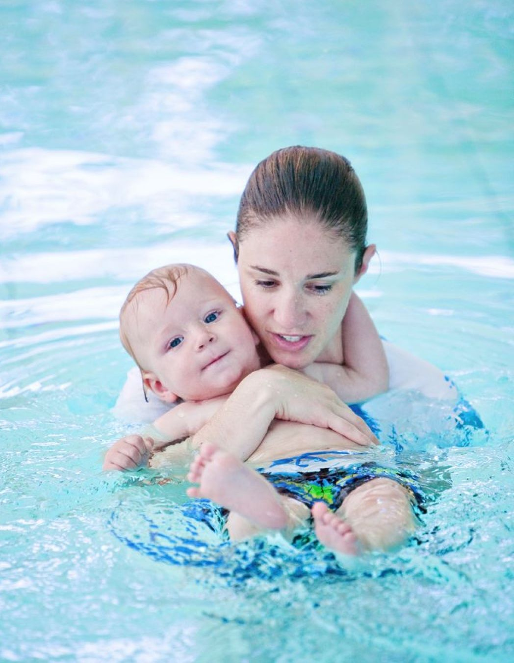 Pin by danise mcclung on hwc swim lessons baby swimming