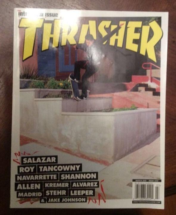 Thrasher Magazine March 2009 English Monthly Skateboarding