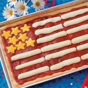 Flag Pizza Recipe