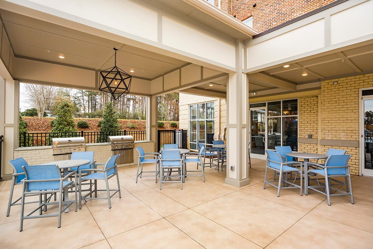 1701 north apartments chapel hill nc outdoor patio and