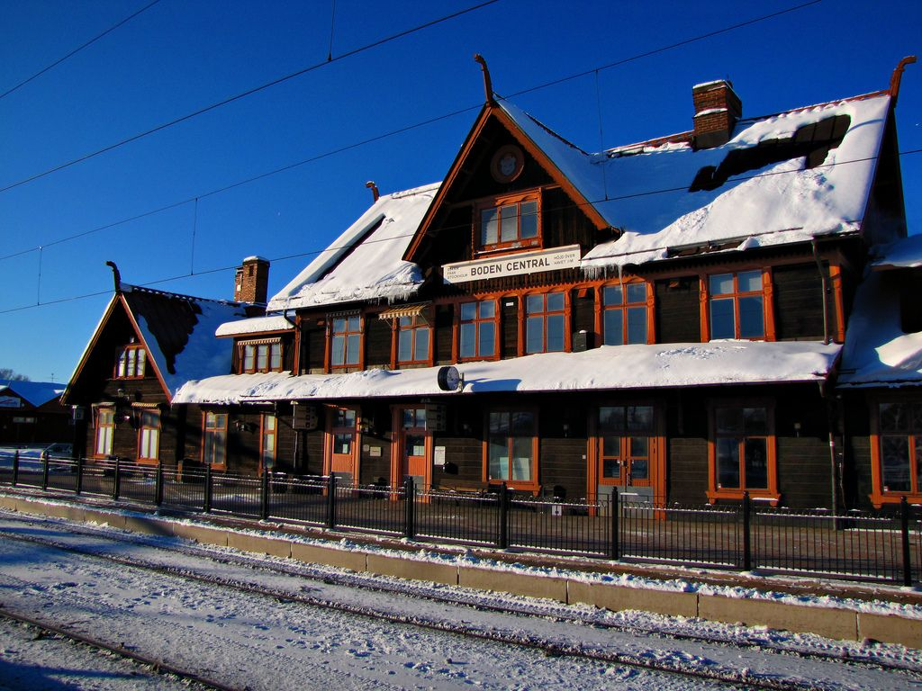 Boden - Sweden (Rovaniemi - Narvik) - 2003