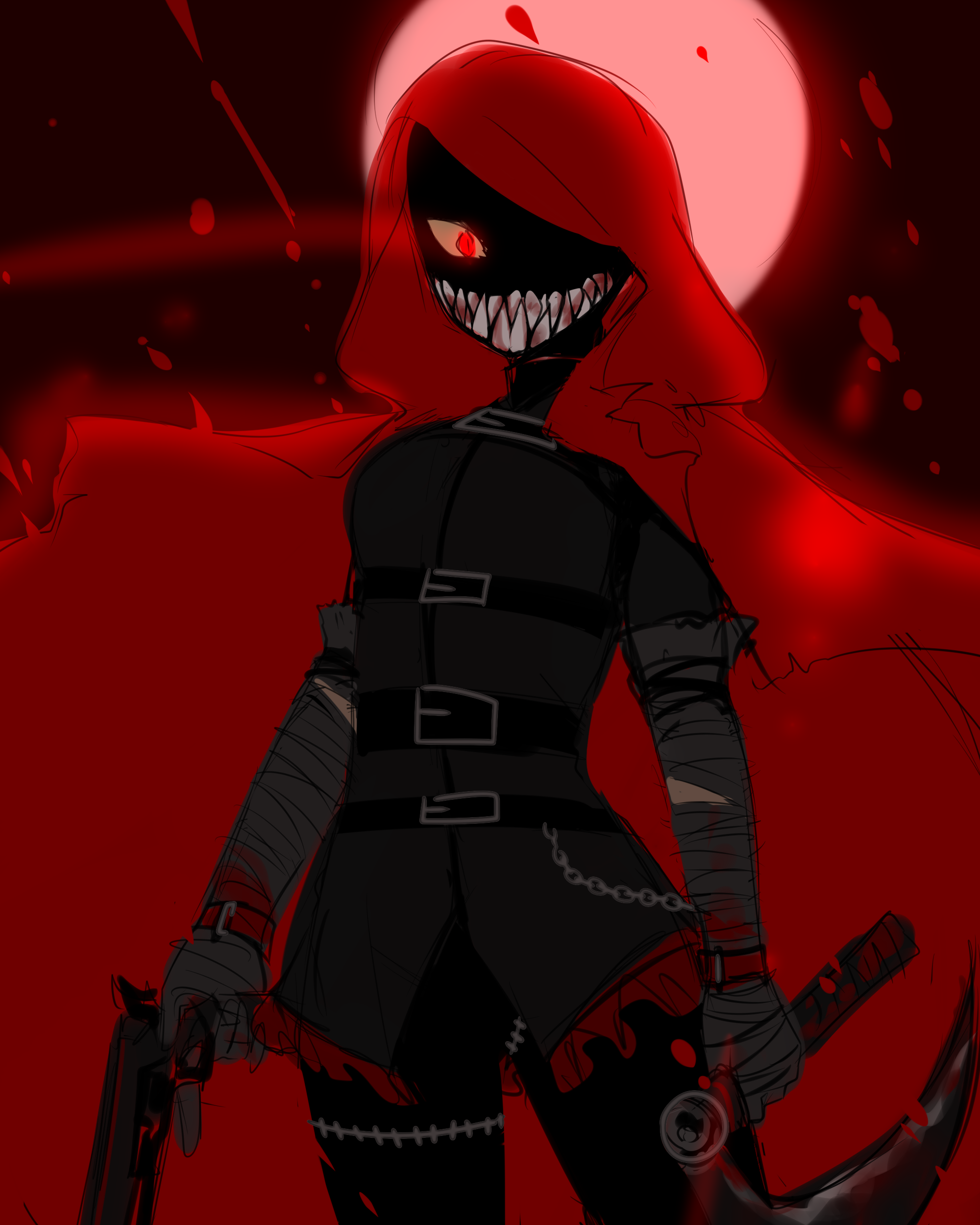 Little Red Riding Hooded Mercenary | Lobotomy Corporation in 2020 | Lobotomy, Corporate, Know your meme