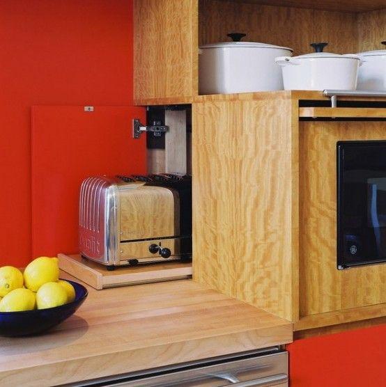 Cómo organizar los pequeños electrodomésticos en la cocina ...