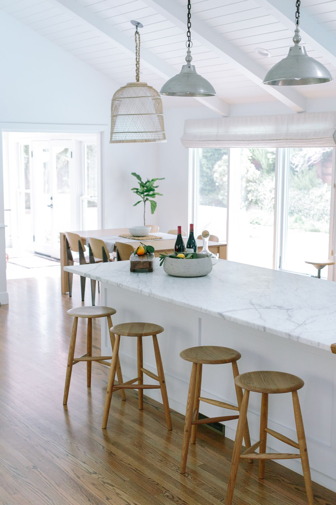 Maria 5 Light Kitchen Island Pendant A Fresh Take On Farmhouse In Southern California | Kitchen