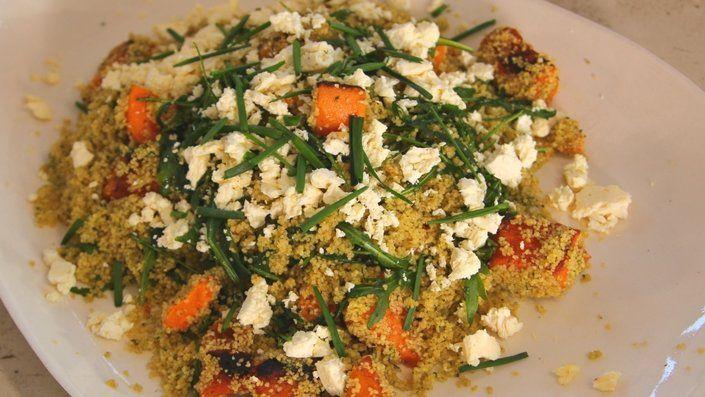 Herby Butternut Squash Salad