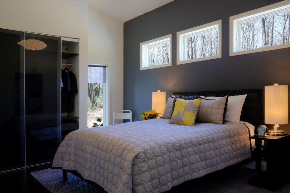 Bedroom Ideas Grey Walls Accent Wall Surely Wish To With Design