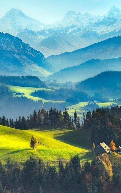 Wie Sie sich über diese wunderschöne Landschaft fühlen, bestimmt Ihren Persönlichkeitstyp