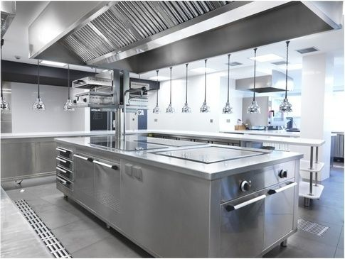 Restaurant Kitchen Ventilation Design what's a state-of-the-art kitchen like at a michelin-rated