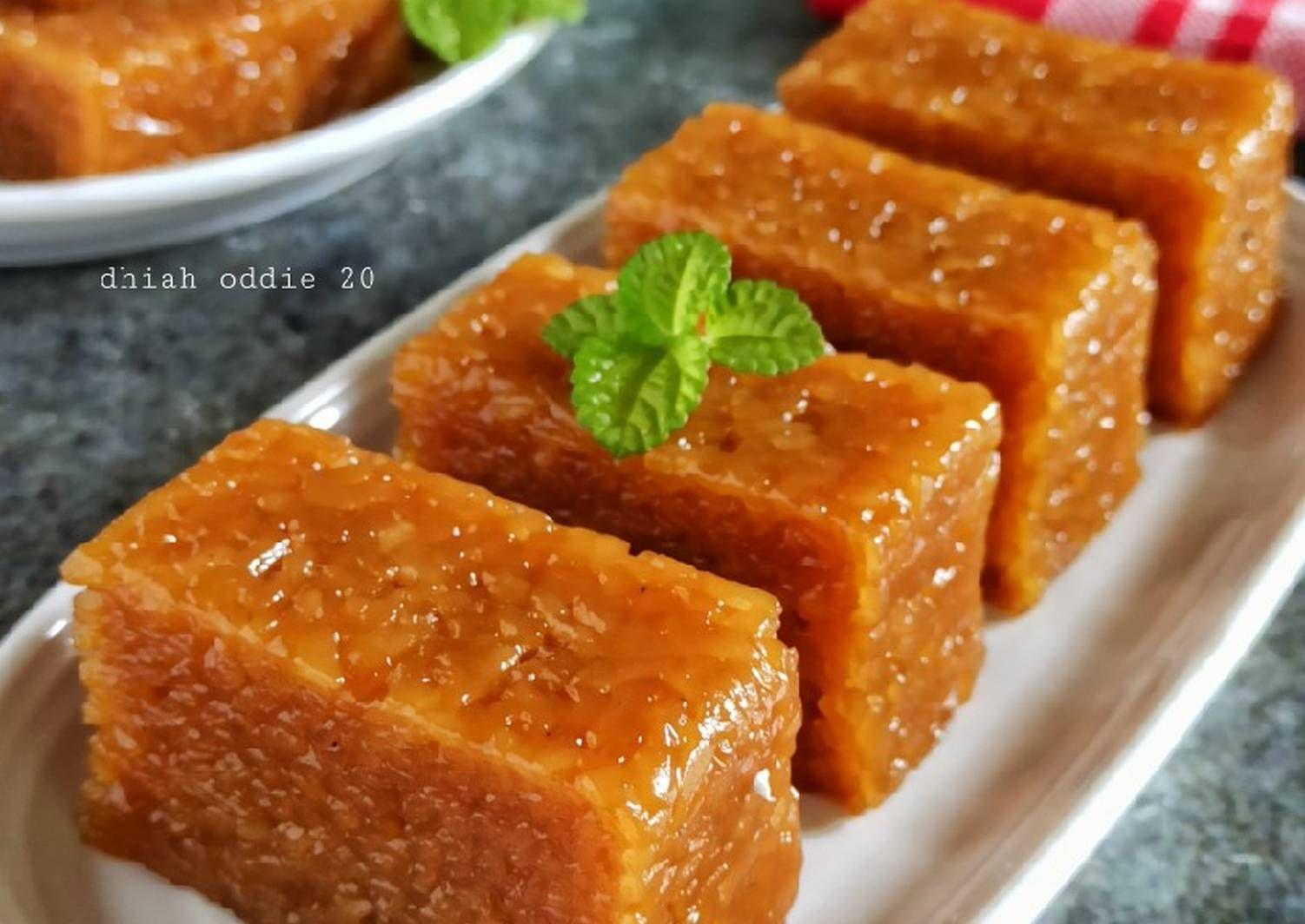 Resep Wajik Gula Merah Oleh Dhiah Oddie Resep Di 2020 Makanan Manis Gula Makanan