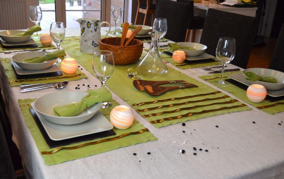 Ropa de mesa manteles individuales caminos servilletas para la mesa elegante a taula a - Individuales para mesa ...