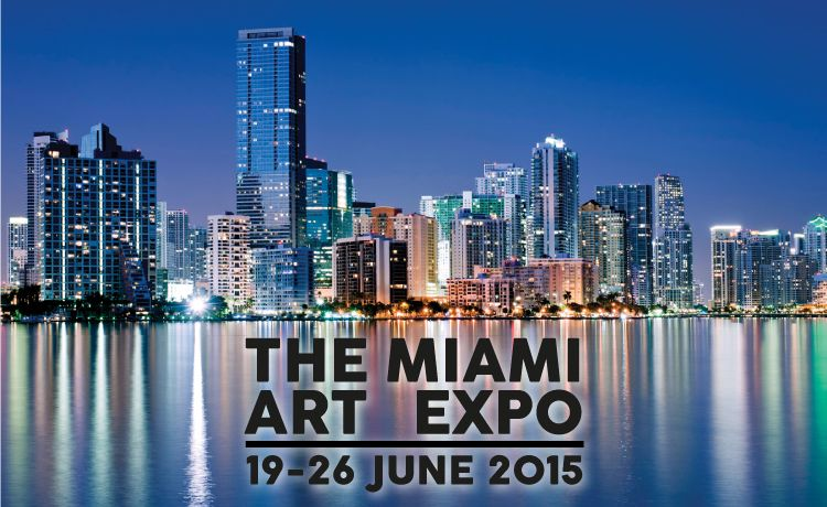 *Call To Artists* --> The Miami Art Expo - June 19-26, 2015 a 1-week exhibition in the heart of Miami's Downtown Arts District at Nina Torres Fine Art sophisticated water view venue providing an extraordinary setting for the Miami Art Expo. Apply to Exhibit - limited availability, selection process, curated by the board of Global Art Agency.  www.themiamiartexpo.com