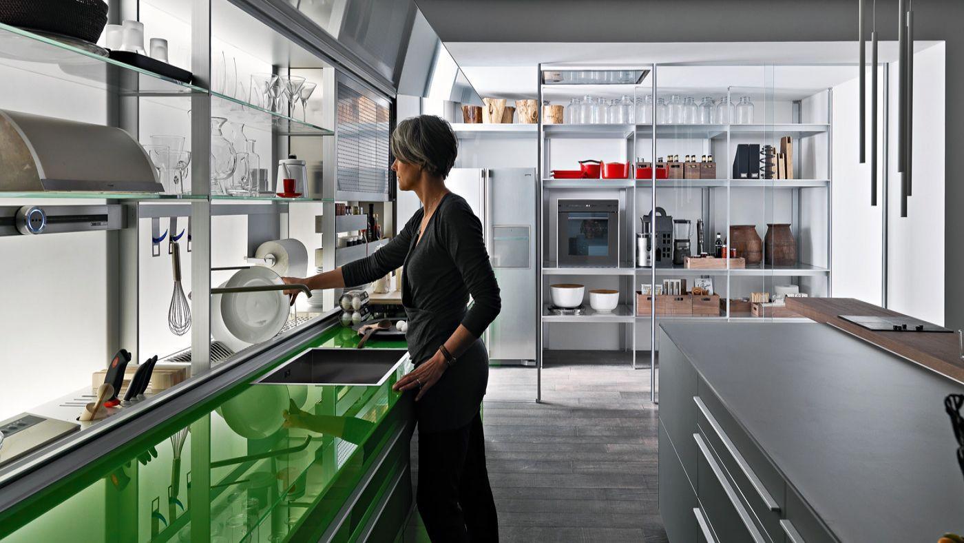 El proyecto arquitectónico :: La cocina con isleta y canal equipado :: Proyectar la cocina