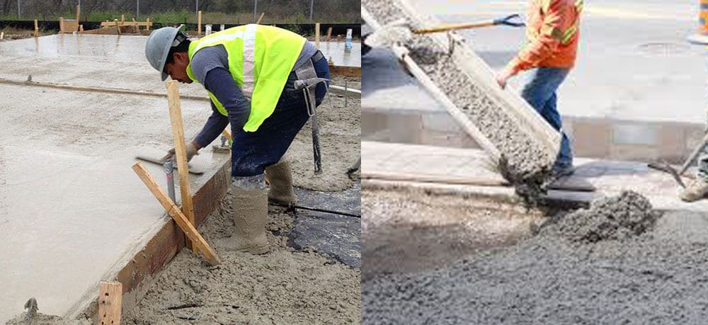 In This Construction Article You Will Learn How To Repair Concrete Steps With The Use Of Some Construction Estimating Software Building Foundation Concrete