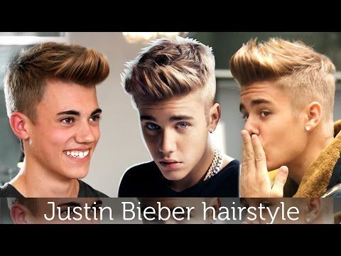 Justin Bieber Hair Tutorial Men S Celebrity Hairstyle By Vilain Gold Digger Justin Bieber Celebrity Hairstyles Celebrity Hair Inspiration