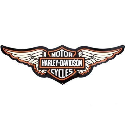 Harley Davidson Symbol With Wings Tin Sign Bar Shield Logo With Wings Harley Davidson 9 Harley Davidson Logo Harley Davidson Parts Harley Davidson Art