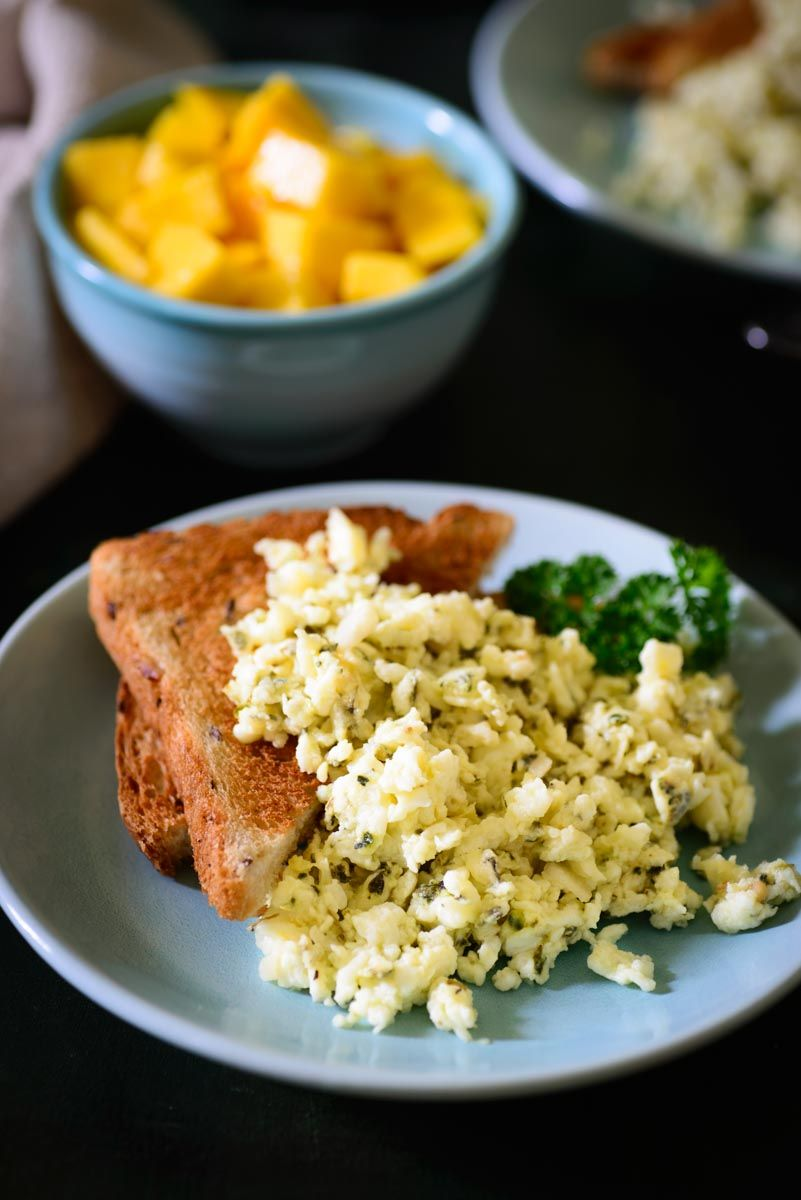 Egg White Scramble Is A Healthy And Delicious Option For