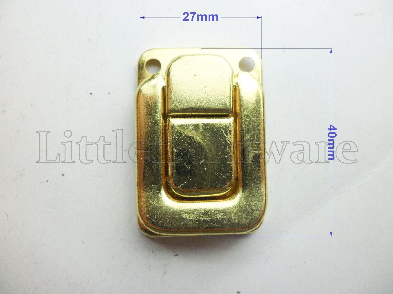 4pcs 10pcs 40mmx27mm Golden Lock Latch Box Hardware Jewelry Box Latch Gift Boxes Latches Chest Hardware Woo Wooden Boxes Locks Latch Hardware Jewelry