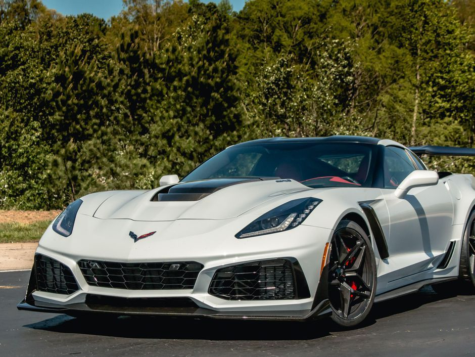2019 Chevrolet Corvette ZR1 A comfortable, 755horsepower