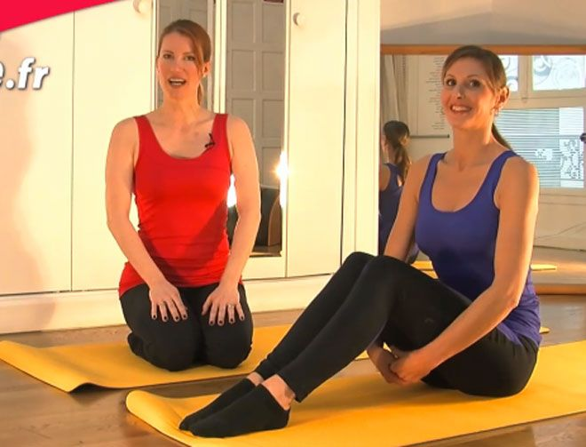 vid o des exercices de yoga pour un ventre plat yoga gym and physique. Black Bedroom Furniture Sets. Home Design Ideas