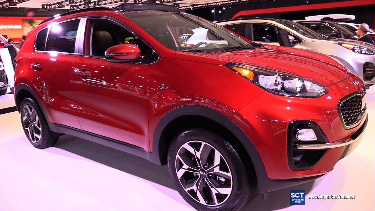 2020 Kia Sportage Ex Awd Exterior And Interior Walkaround 2019 New Y Kia Sportage Kia Sportage