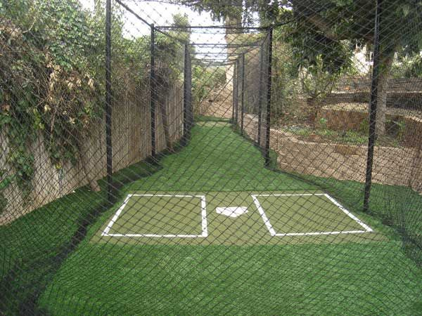 Building a Home Batting Cage | Batting cage backyard ...