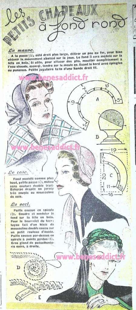 GRATUIT! 35 SUPERBES Patrons Couture Vintage 1950! ! FREE Sewing ...