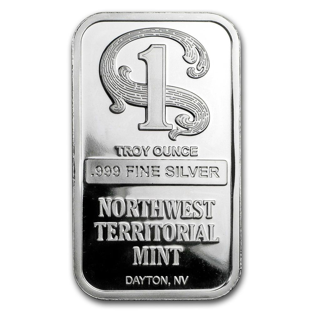 1 Oz Silver Bar Northwest Territorial Mint Sku172196 Pinterest Liberty Walking 1oz Silverbar