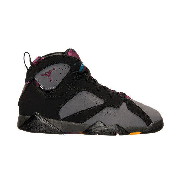 5d2b9e3331f48f Boys  Preschool Air Jordan Retro 7 Basketball Shoes ( 100) ❤ liked on  Polyvore